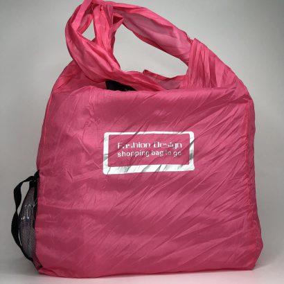 розовая сумка для шоппинга