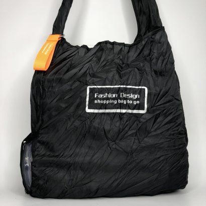 черная сумка для шоппинга